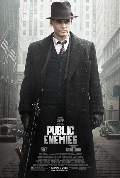 """""""Public Enemies"""", featuring Johnny Depp"""