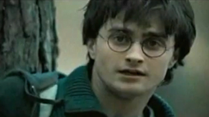 Daniel Radcliffe in 'Harry Potter and the Deathly Hallows' (Warner Bros.)