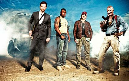 'The A-Team' 2010 cast