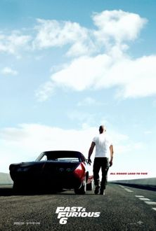 fast and furious 6 movie poster image